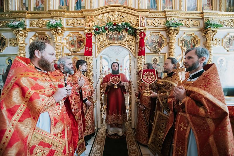 6 июня 2021, Литургия в храме Живоночальной Троицы г. Дмитрова / 6 June 2021, Liturgy at the Church of the Holy Trinity in Dmitrov