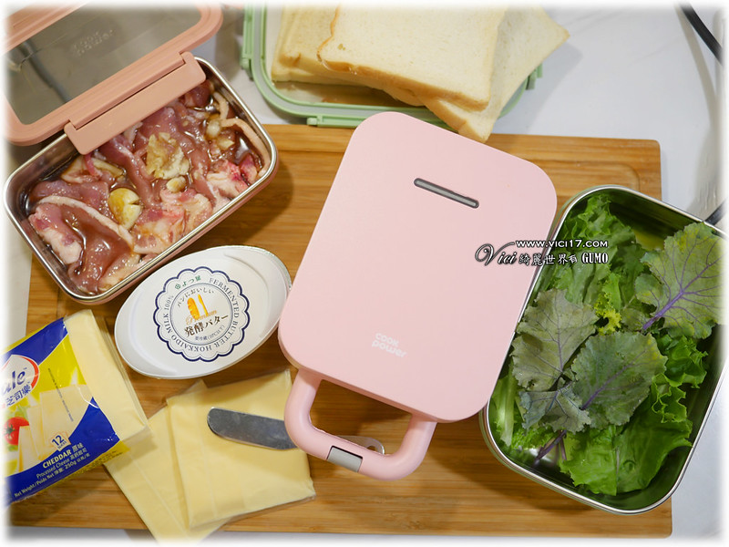 熱壓肉排三明治002