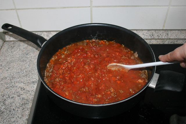13 - Scramble & bring to a boil / Verrühren & aufkochen lassen