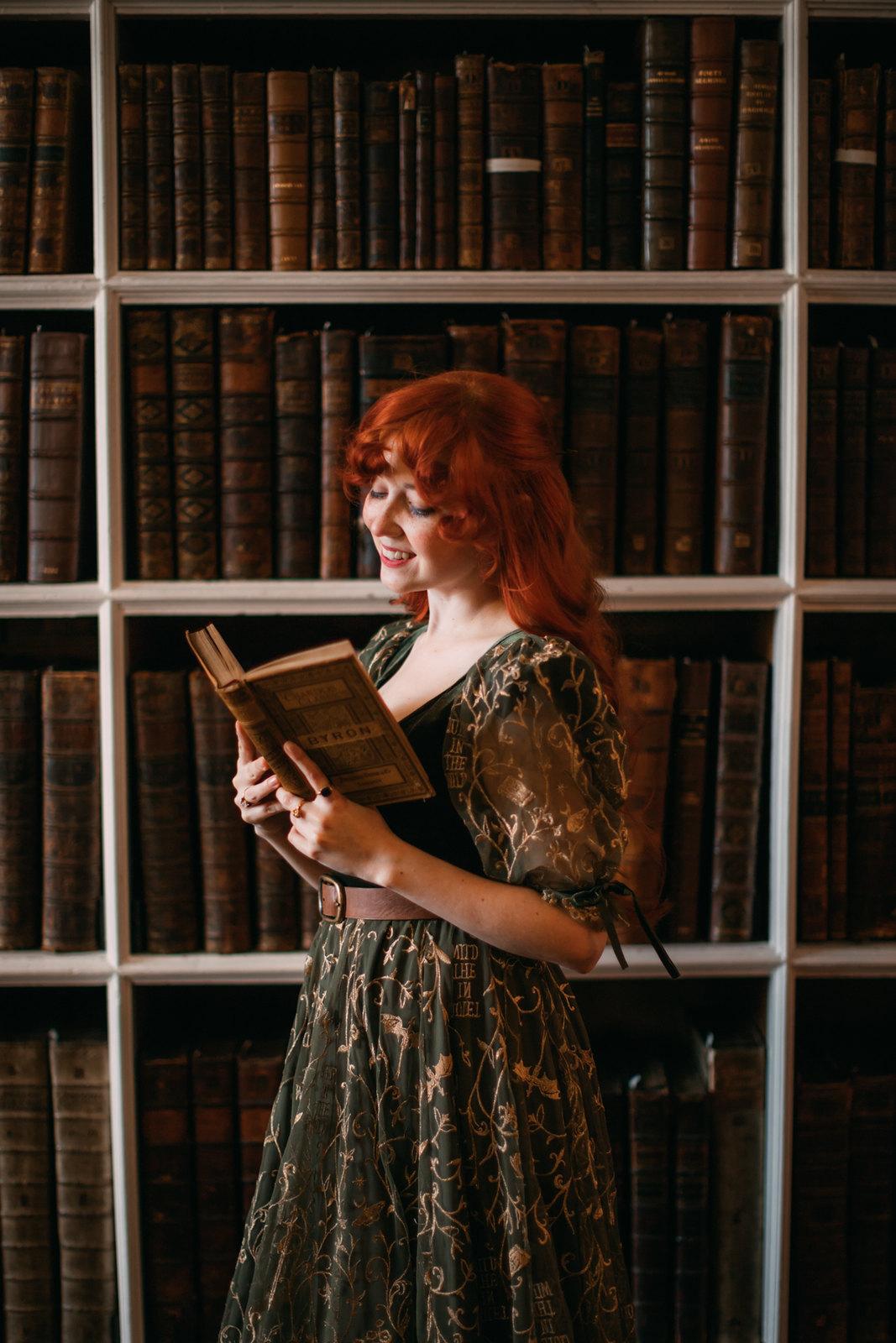 leannan sidhe, nour and the merchant, bookworm dress, main character dress, enemies to lovers dress, fairytale dress, fairycore dress, magic dress, dragon dress, book dress, bookish dress