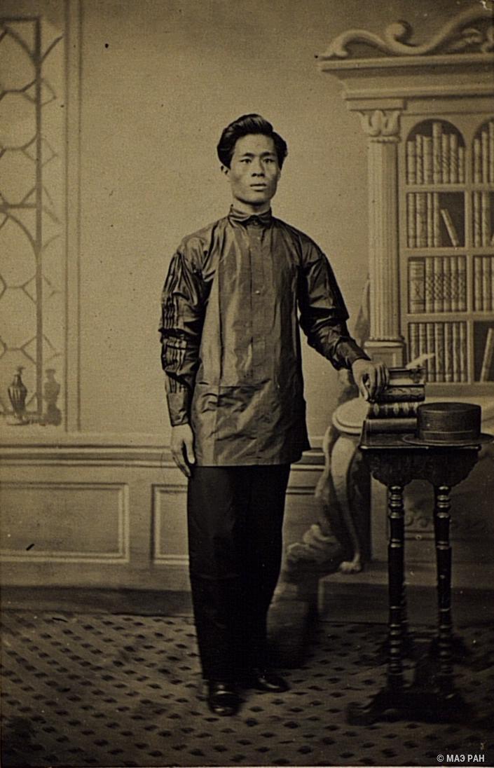 Портрет молодого человека. Филиппины, город Манила1