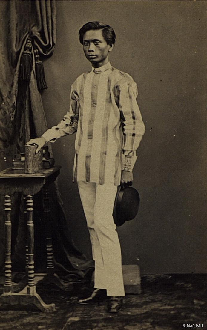 Портрет молодого человека. Филиппины, город Манила