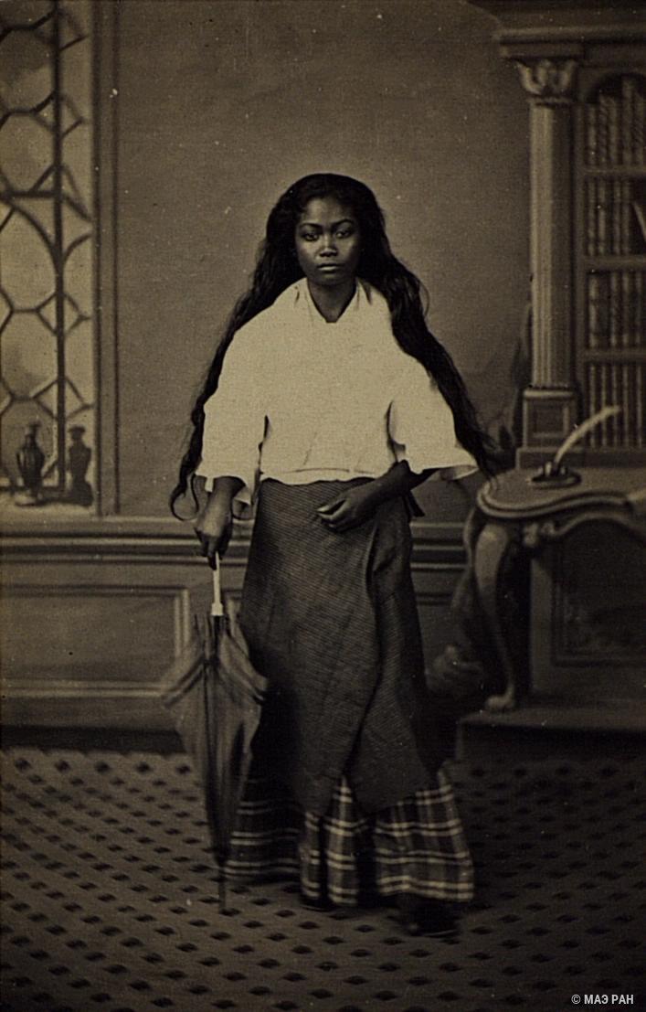 Портрет девушки. Филиппины, город Манила1