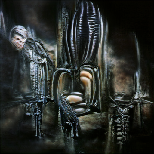 'H R Giger' Text2Image v2 Text-to-Image