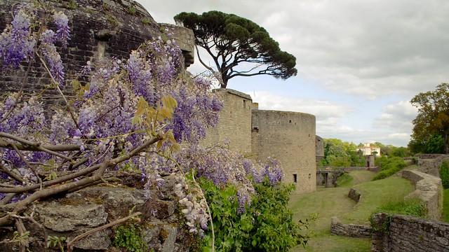 Clisson, les ramparts du chateau