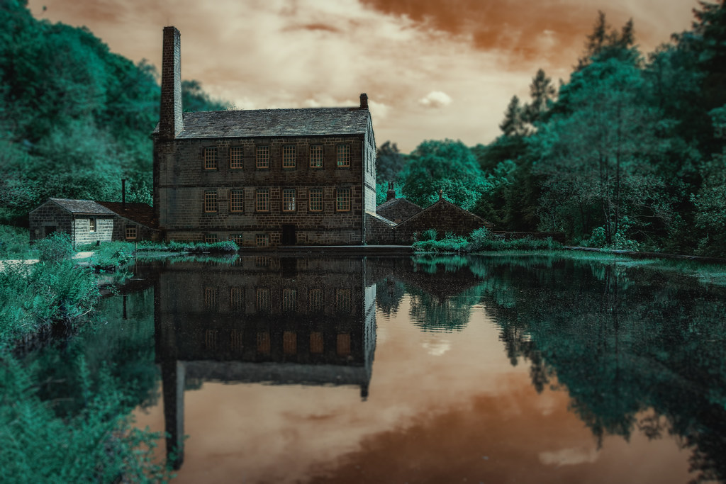 Gibson Mill, Hardcastle Crags, England