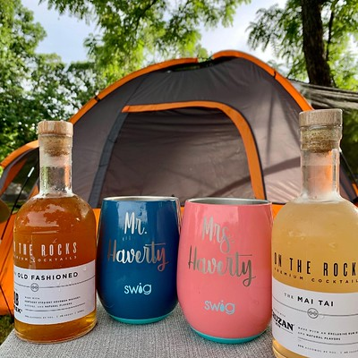 Cocktails and Tent