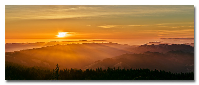 Sunset View from Mt. Tam (2 of 4)