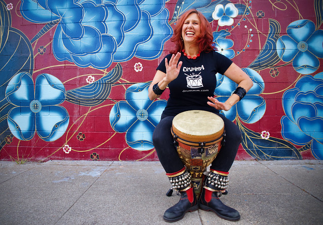 Jeni Swerdlow of DRUMMM Rhythmic Events