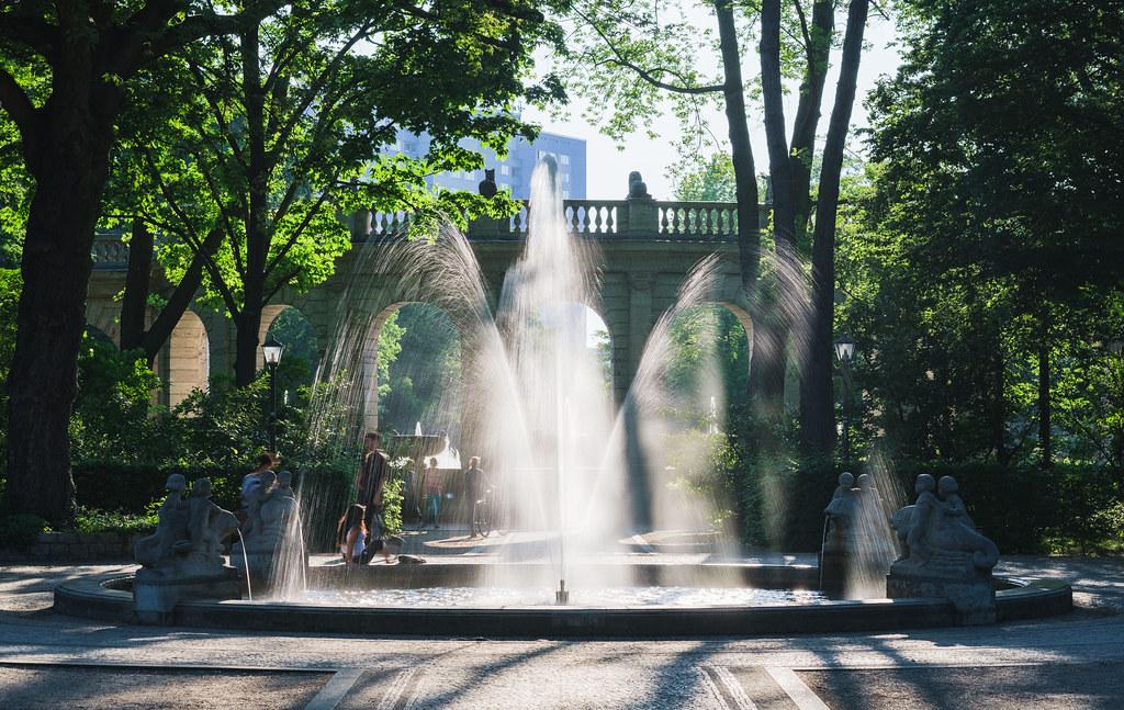 Sommerfrische im Märchenbrunnen