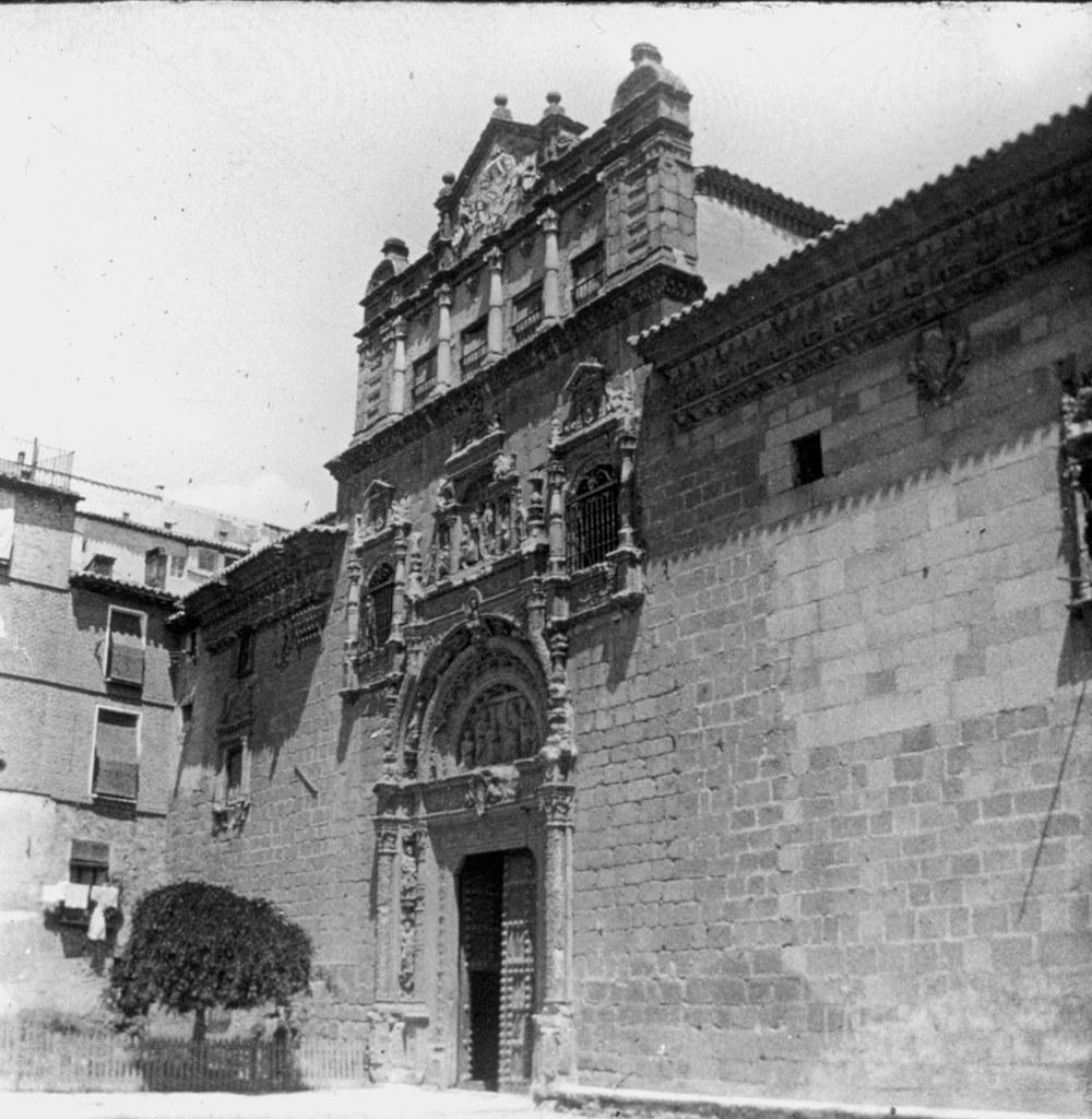 Hospital de Santa Cruz en los años 20. Fotografía de Daniel Dufol Álvarez