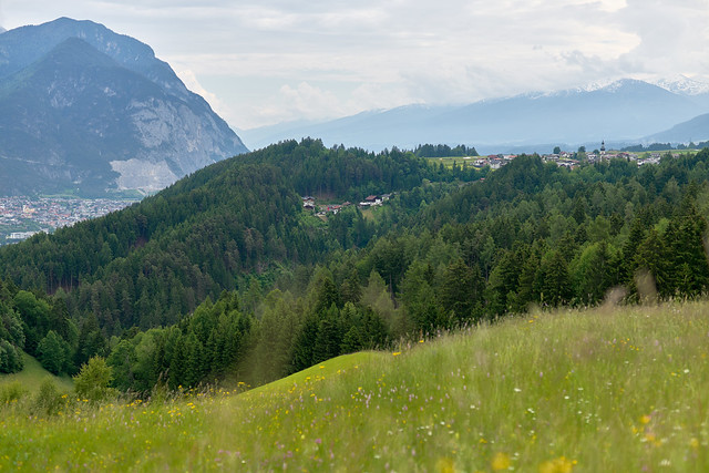 Blick auf Ranggen - Tirol