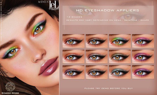 Synergy - Lelutka HD Eyeshadow Applier for EVO/EVO X heads - Palermo♥