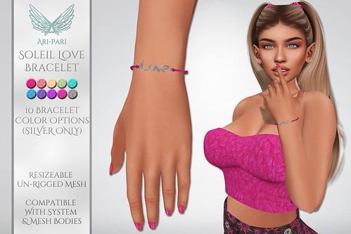 [Ari-Pari] Soleil Love Bracelet