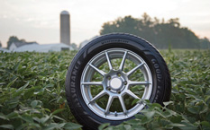 Goodyear has developed a soybean oil-based tread compound