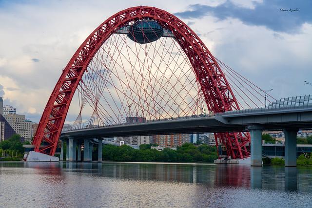 Zhivopisny bridge (Moscow)