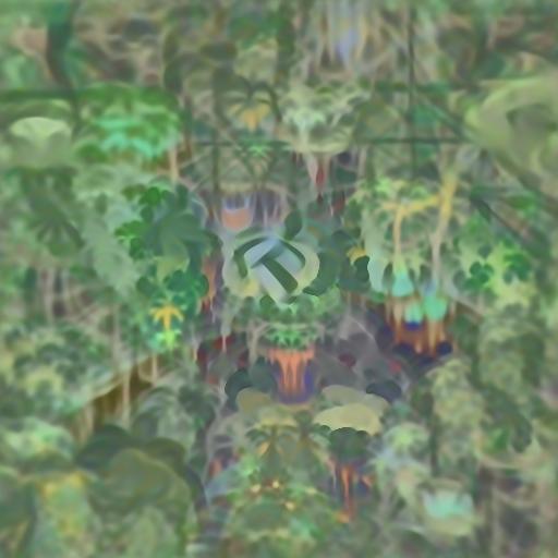 'rainforest' Deep Daze Text-to-Image