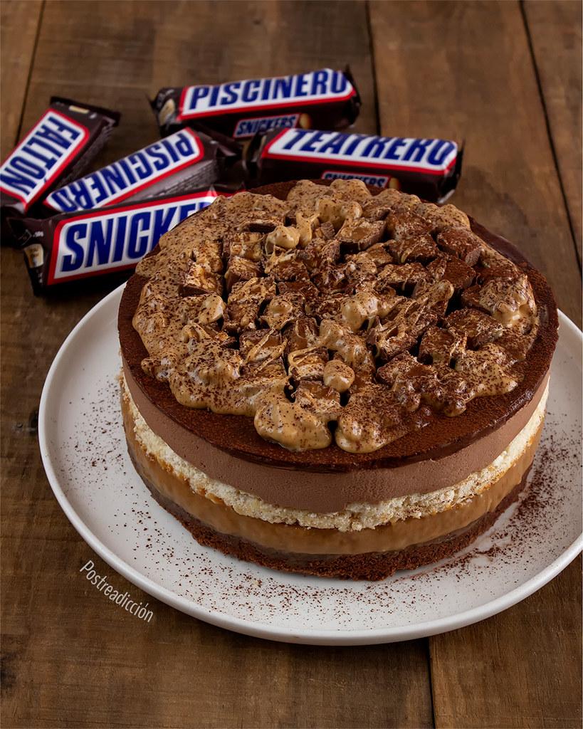 cheesecake de snickers