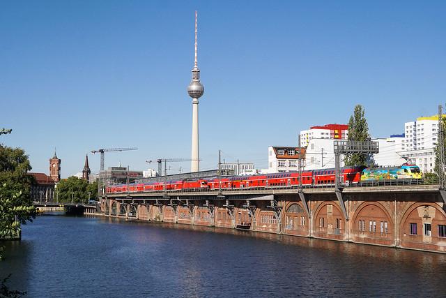 182 005 DB Regio AG   Berlin-Jannowitzbrücke   September 2020