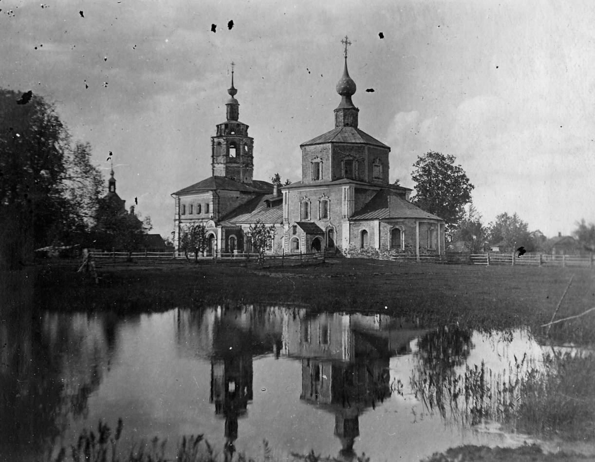 Церковь Иконы Божией Матери Смоленская.