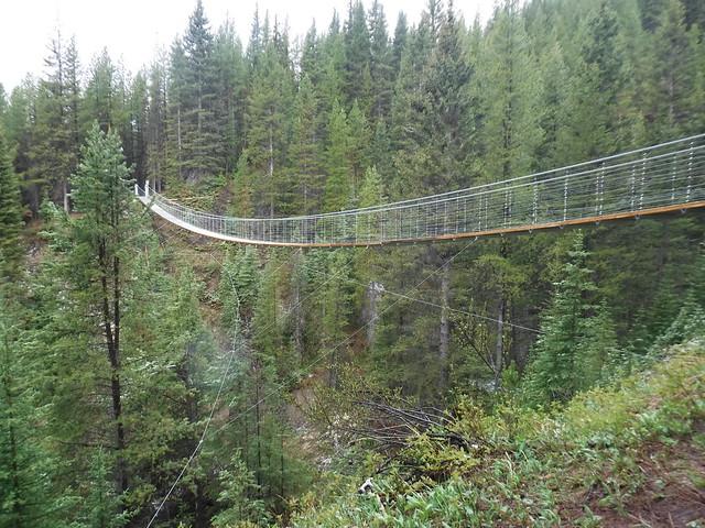 Black shale bridge high rockies trail