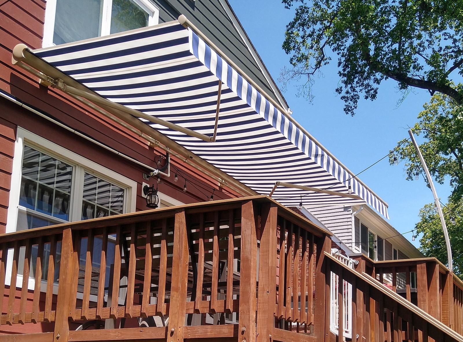 Hoffman Centennial Deck Retractable Awning
