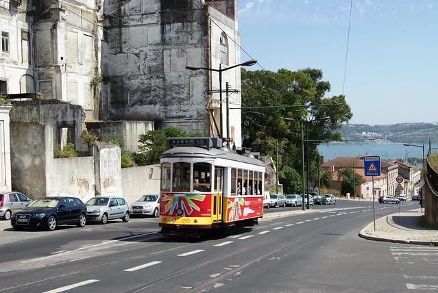 Tram 581 de Lisbonne (Portugal)