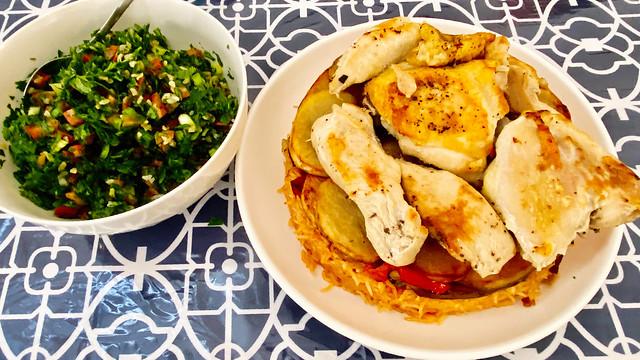 Maqluba & Tabouli