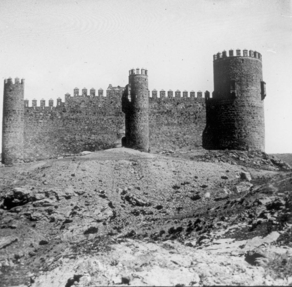 Castillo de San Servando en los años 20. Fotografía de Daniel Dufol Álvarez