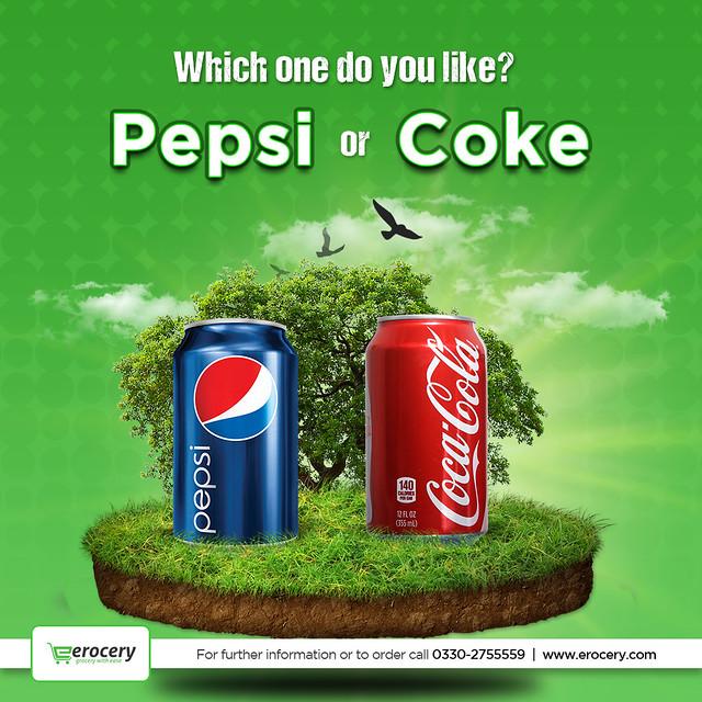 Pepsi or coke
