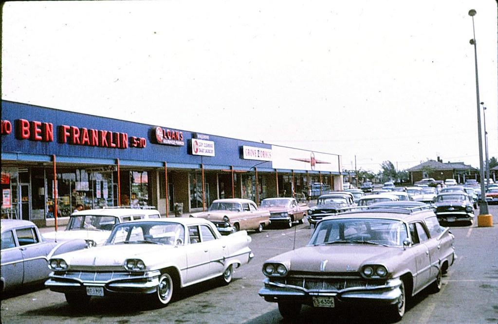 DON GUTZ'S WYANDOTTE: Fort-Grove Shopping Plaza (1960s)