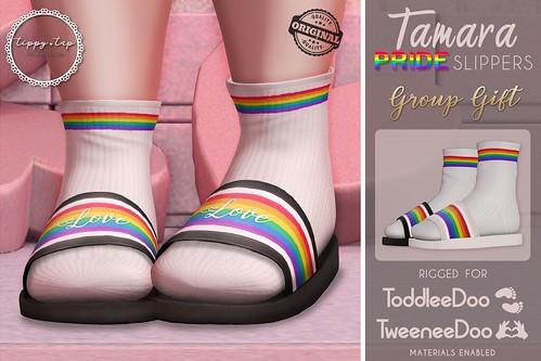 .Tippy.Tap. Tamara Slippers - PRIDE Group gift
