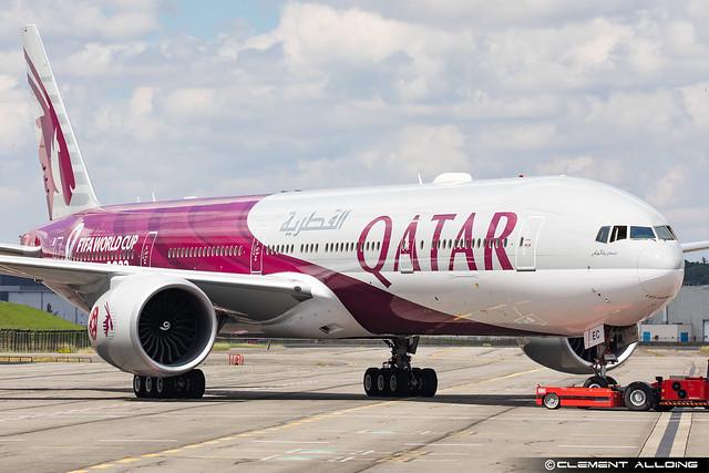 Qatar Airways Boeing 777-3DZ(ER) cn 43216 / 1226 A7-BEC