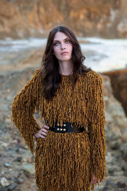 Vogue Maria Palm Red Lake