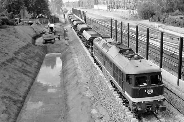 Berlin DB Baustelle Dresdner Bahn  26.5.2021