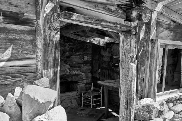 Grant Range Cabin Interior
