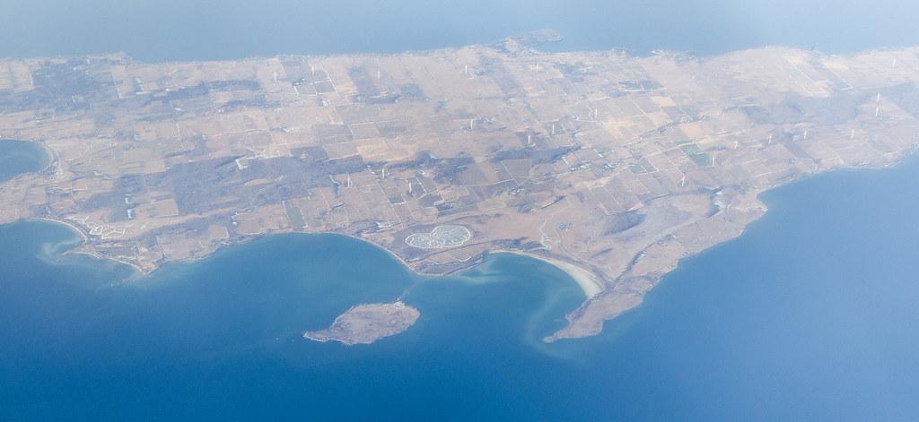 Island of Wind Turbines