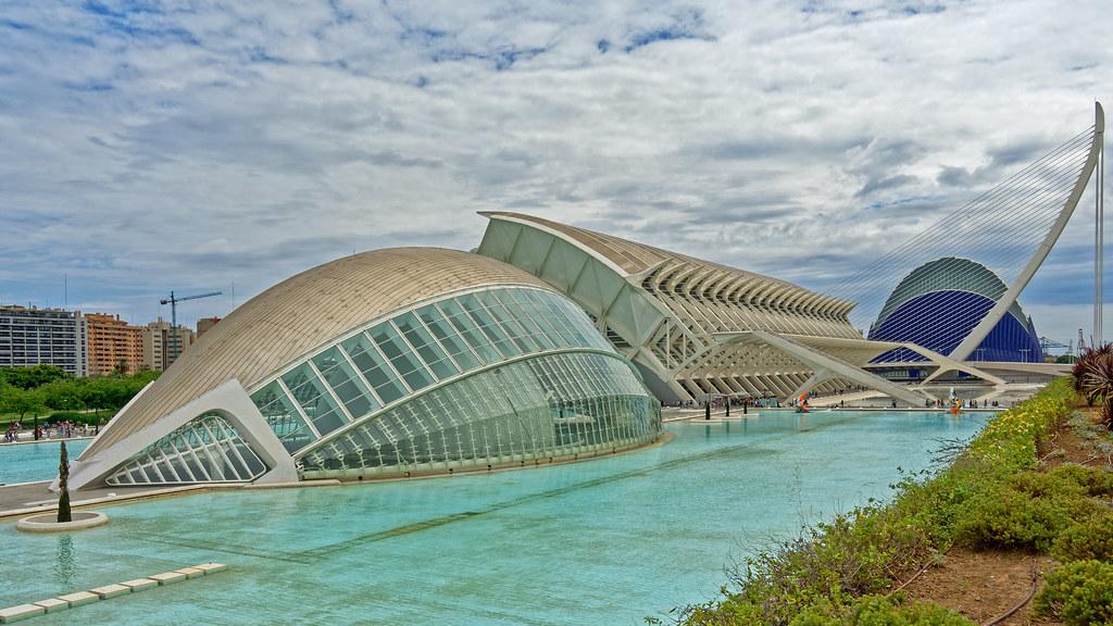 Valencia (The Arts & Science Area) Olympus OM-D Em1.2 & M.Zuiko 12-100mm f4 Pro Zoom