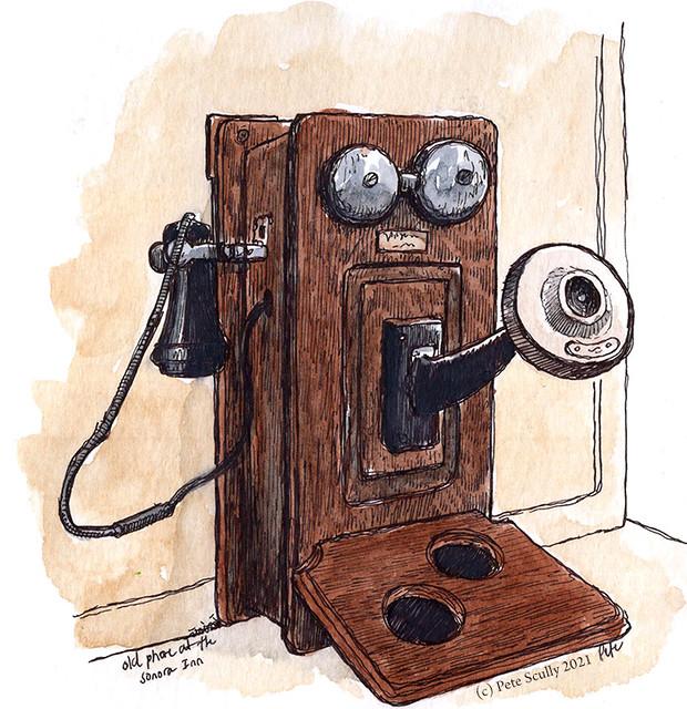 Sonora Inn old phone
