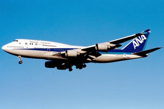 All Nippon Airways | Boeing 747-400 | JA8955 | London Heathrow