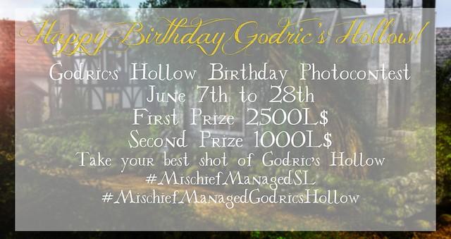 Godrics Hollow Birthday Photocontest
