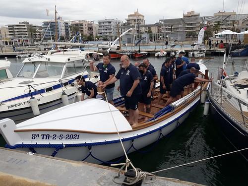 6/juny: Primera vogada dels tripulants