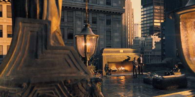 Rockefeller Center rooftop