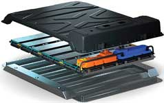 cost-effective battery concept for EVs that has a lightweight construction