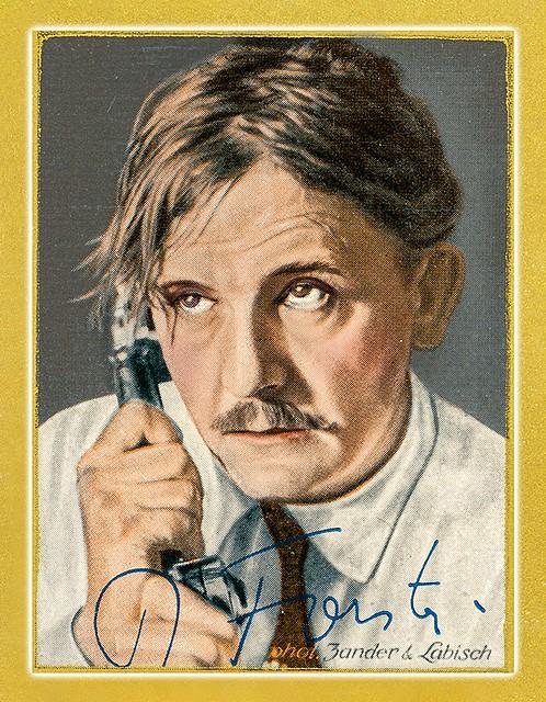 Rudolf Forster, 1933 Sammelbild 116