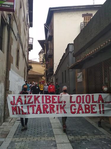 Jaizkibelgo eremu militarrera martxa 2021 (2021-06-06)