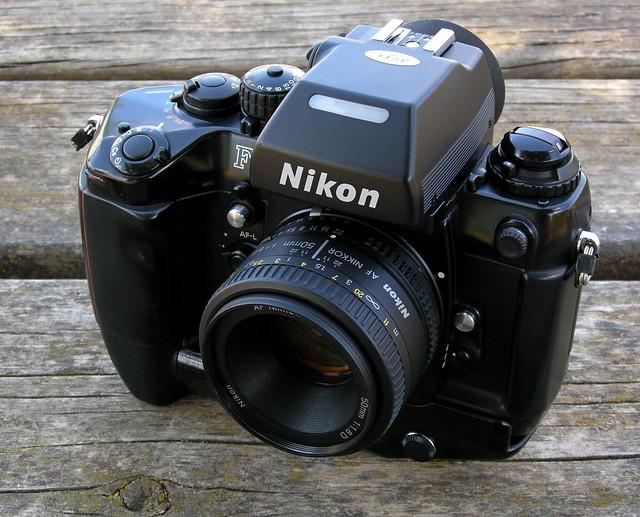 Nikon F4s + Nikon AF Nikkor 50mm f1.8 D + MF22. Made in Japan