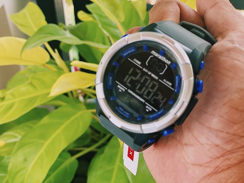 Timex Marathon Grey Plastic Watch For Men Rodmagaru.com