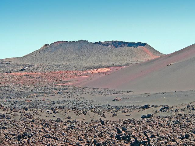 Espagne, les Canaries, l'île de Lanzarote, volcan du parque de Timanfaya