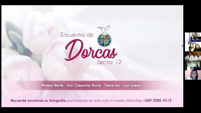 """Encuentro de Dorcas del Sector Nº12. """"Anhelando la venida del Señor""""."""